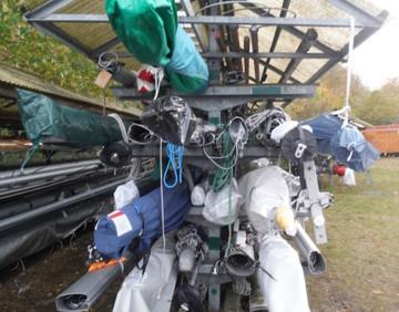 Highlight: Stellen von Masten in 2020