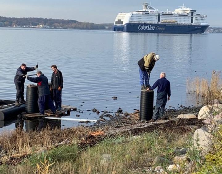 Aktuelles: Fortschritt Hafenarbeitsdienst